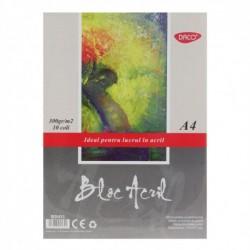BLOC A4 ACRIL 300GR  10 FILE DACO BD431