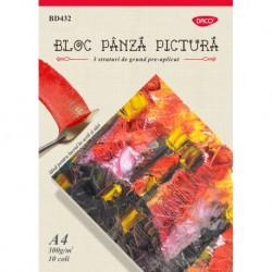 BLOC A4 PANZA PICTURA 300G 10 COLI BD432