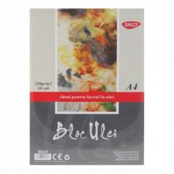 BLOC A4 ULEI 250GR  10 FILE DACO BD425