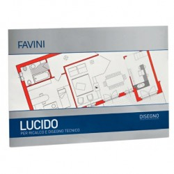 BLOC HARTIE CALC A3 10 FILE 75G/MP FAVINI LUCIDO