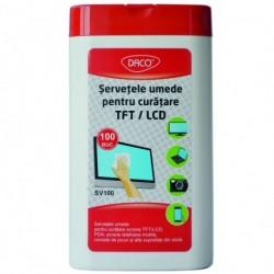 SERVETELE SV100 PENTRU CURATARE TFT/LCD