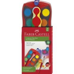 ACUARELE 12 CULORI CONNECTOR FABER-CASTELL