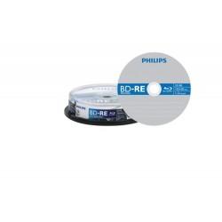 BD-R 10/SET PHILIPS 25GB 4X BLUE RAY