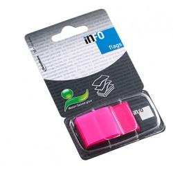 INDEX ADEZIV PLASTIC 25*43MM 50 FILE ROZ INFO NOTES