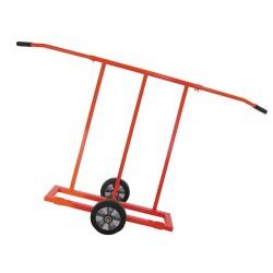 Carucior cu 2 roti pentru transport placi, maxim 900 kg 500550