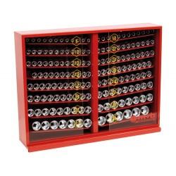 Expozitor cu 165 capete chei tubulare 1 pe 2inch SH 9581000101