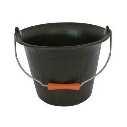 Galeti constructor din PVC negru, cu maner si manson 341081