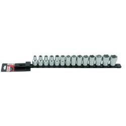 Set 14 capete chei tubulare 1 pe 2inch SH pe suport metalic 9482014001