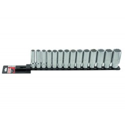 Set 14 capete chei tubulare lungi 1 pe 2inch DH pe suport metalic 9430070001