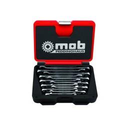 Set chei combinate cu clichet reversibil, cutie metal 9002000101