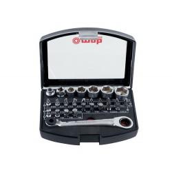 Trusa 31 bituri, capete si accesorii 1 pe 4inch BOX31 9460031001