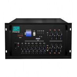Amplificator 350W cu mixer, 6 zone, USB/SD/Tuner, 4Mic si 3AUX, 100V & 4-16 Ohmi, DSPPA AUDIO MP1010U