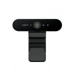 Camera web Logitech Brio 960-001106 4K, Zoom digital x5 , Autofocus , USB 3.0 Negru