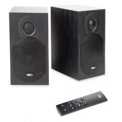 Boxe active de raft Tibo Plus1.1, 2x25W , Bluetooth, Hi-Fi, Black