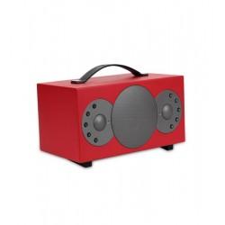 Boxa Smart TIBO Sphere2, Wireless, Bluetooth, Wi-Fi, Multiroom, Internet Radio, Rosu