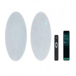 Boxe Wireless de tavan Multiroom 2x20W Fonestar KS-07WIFI,  Spotify, Internet Radio (pereche), telecomanda