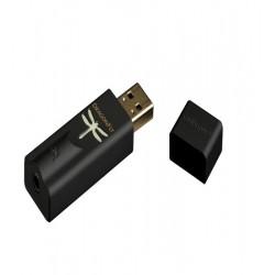 Amplificator de casti si DAC AudioQuest DragonFly Black