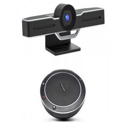 Sistem videoconferinta Eacome cu Camera videoconferinta EPTZ EvoView, zoom optic 3X si Eacome SV11 Speakerphone, USB