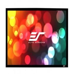 Ecran proiectie cu rama fixa, de perete, 221.4 x 124.4 cm, EliteScreens SABLEFRAME ER100WH1, Format 16:9