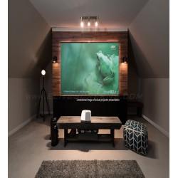 Ecran proiectie cu rama fixa, de perete, 199 x 112 cm, EliteScreens ALR dedicat ptr UST AEON, AR90H-CLR, Format 16:9