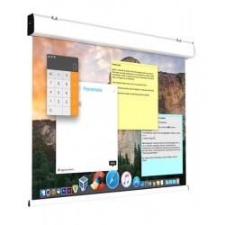 Ecran proiectie electric, perete/tavan, 300 x 225 cm, COMPACT, fara bordura, proiectie FRONT/REAR, Format 4:3