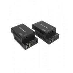 Extender HDMI 2.0 4K@30fps Evoconnect EDB50C prin 1xCAT6, PoC, max 50m, HDMI audio/video - IR