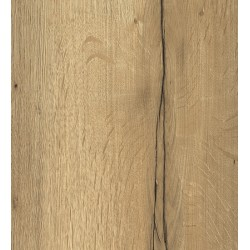 Blat pentru birou, compatibil cu Sit-Stand, H1180 Stejar Halifax natur, 1400x750x36