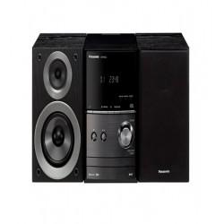 Microsistem audio Panasonic SC-PM602EG-K, 40W, USB, Bluetooth, Negru