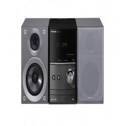 Microsistem audio Panasonic SC-PM602EG-K, 40W, USB, Bluetooth, Silver