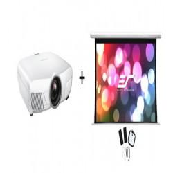 Pachet videoproiectie cu Epson 4K EH-TW9400W si ecran electric EliteScreens Saker SKT135XHW-E6, 16:9
