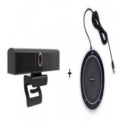 Pachet Videoconferinta cu Webcam All-in-one, SeeUp, USB conferencing + Eacome SV11 Speakerphone, USB