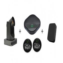 Sistem videoconferinta cu camera EACOME BC400, speakerphone EACOME SV16B + 2 x Extensie N3X si mini PC SWEDX  J4105