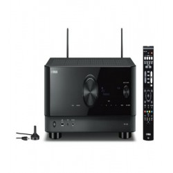 Receiver 5.2 canale Yamaha RX-V4A, 8K/4K, Dolby True HD, DTS-HD, CINEMA DSP 3D, wireless surround