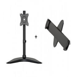 Stand Tableta Multibrackets 3323 si Suport tableta cu adaptor VESA Blackmount PAD29-01, 7.9