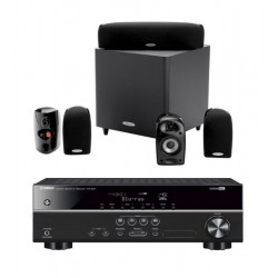 Sistem Audio Home cinema cu Receiver Yamaha HTR2071 si Sistem Boxe 5.1 Polk Audio TL600