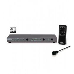 Switch HDMI 4x1 Connect 621 UHD 2.0 MARMITEK 08327, 4K@60Hz(4:4:4), HDR, HDCP2.2, digital audio output