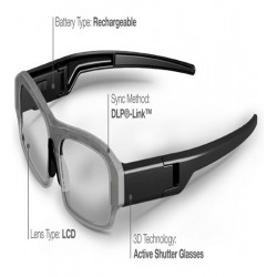 Ochelari 3D Activi X05 DLP LINK ptr BenQ, Acer, Optoma