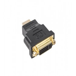 Adaptor HDMI tata/ DVI-D mama (24+5) single link, Lanberg, AD-0014-BK