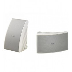 Boxe de perete/tavan 50W (150W max) YAMAHA NS-AW592, 55Hz-20kHz, montaj exterior, Waterproof, Alb