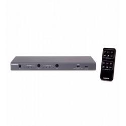 Matrix HDMI switcher 4K@60Hz - 4 in/ 2 out, Marmitek Connect 542 UHD
