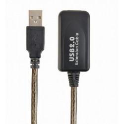 Prelungitor USB2.0 activ, tata-mama, 10m, UAE-01-10M, Gembird