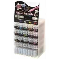 Display ARTLINE Decorite 1mm, 20 cul x 6 buc + 9set x 4 buc/display - diverse culori