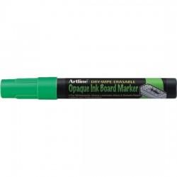 Marker cu cerneala opaca, ARTLINE, pentru table de scris, varf 2.0mm - verde fluorescent