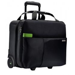 Geanta LEITZ Complete Smart Traveller, pentru laptop de 15.6 inch, 2 rotile, 25l, negru