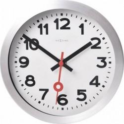 Ceas de perete, D-19 cm, cifre arabe,aluminiu, NeXtime -