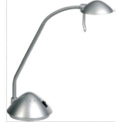 Lampa de birou cu brat flexibil, 20W - halogen, ALCO - negru