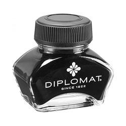 Calimara cu cerneala, 30ml, DIPLOMAT - neagra