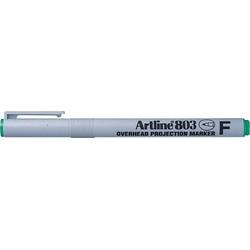 OHP Non-Permanent marker ARTLINE 803, varf fin - 0.5mm - verde