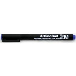 OHP Permanent marker ARTLINE 854, varf mediu - 1.0mm - albastru
