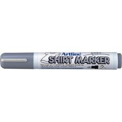 T-Shirt marker ARTLINE, corp plastic, varf rotund 2.0mm - gri